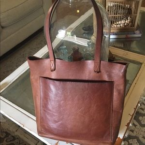 Genuine Leather Madwell Tote